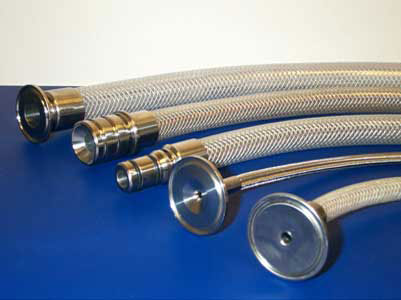 Sanitary Crimped  Hoses